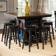 Kitchen Island Tables With Stools Avalon Furniture Rivington Hall Traditional Counter Table Kitchen