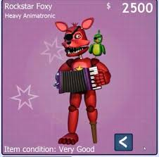 foxy costume rockstar foxy costume five nights at freddy s amino