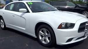 used white dodge charger used white 2013 dodge charger se