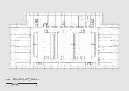 Data Center Floor Plan by Gallery Of Santander Datacenter Loebcapote Arquitetura E