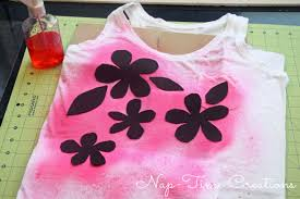 How To Spray Paint Designs Spray Paint T Shirt With Kool Aid Juice Drink Life Sew Savory