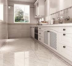 Polished Porcelain Floor Tiles Awesome Kitchens The Super White Polished Porcelain Floor Tiles