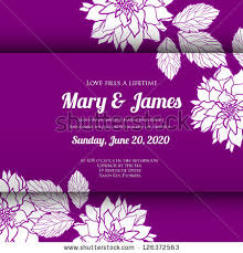 wedding backdrop vector invitation wedding card abstract floral background stock vector