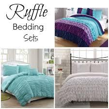 aqua ruffle comforter ruffle bedding sets jpg
