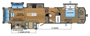 bunkhouse fifth wheel floor plans jayco north point rvs for sale camping world rv sales