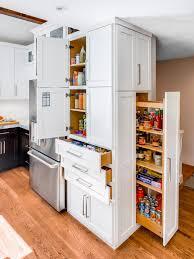 Hidden Kitchen Storage Kitchen Update For Midcentury House Harmony Weihs Hgtv