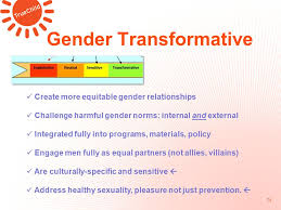 Challenge Harmful Gender Reproductive Health Copyright Truechild Inc Integrating