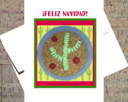 feliz navidad card merry christmas card spanish christmas