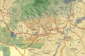 Map Of Northern Utah by Western Land Realty Inc Cabins Recreational Property And More
