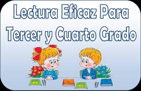 libros para leer de cuarto grado lectura eficaz para tercer y cuarto grado material educativo