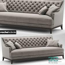 288 sofa fauteuil epoq roche bobois 3d mili download 3d model