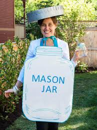 Halloween Jars Crafts by Diy Mason Jar Halloween Costume How Tos Diy