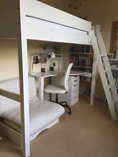 High Sleeper With Desk And Futon High Sleeper Bed Ebay