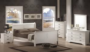 louis philippe 6 piece bedroom set in white finish by coaster 204691