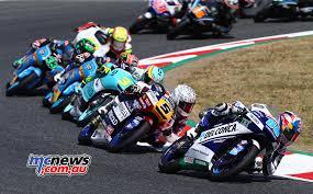 honda gbr honda men dominate catalunya moto3 contest mcnews com au