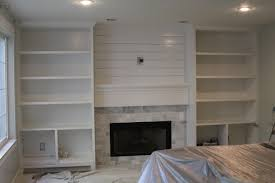 wall units extraordinary fireplace built in cabinets ideas also