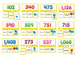 place value equivalency puzzles at lakeshore learning