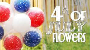 july 4th decorations easy balloon centerpieces for july 4th patriotic balloon flower