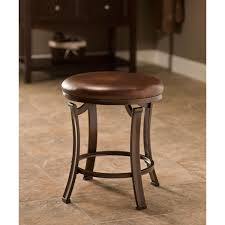 hastings antique bronze backless vanity stool hillsdale furniture