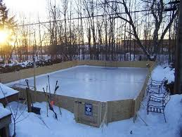 Making Ice Rink In Backyard Backyard Ice Rink How Cool Would This Be One Day Things To