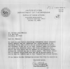 united states department of interior bureau of indian affairs 29 letter from the bureau of indian affairs blackfeet indian