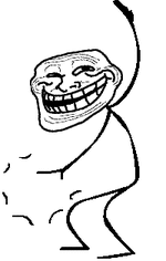Meme Faces Troll - troll face meme emoticon emoticons and smileys for facebook msn