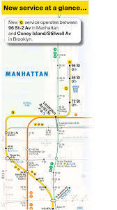 Brooklyn Subway Map by Mta Info Guide