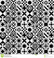 Moroccan Tile by Black And White Moroccan Tile Floor Decoration