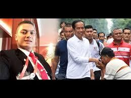 profil sosok jokowi ini sosok paspres ganteng perisai hidup presiden jokowi youtube