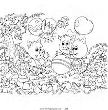 articles pigs straw house coloring pages tag 3