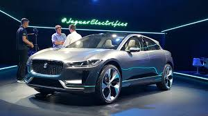 jaguar jeep jaguar i pace electric concept at la auto show video walkaround