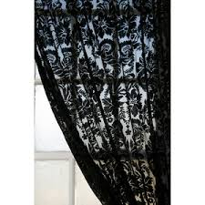 damask velvet burnout curtain urban outfitters polyvore