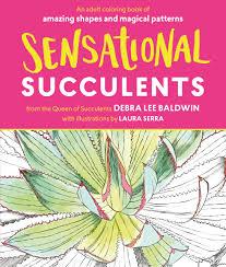 Amazon Succulents Sensational Succulents An Coloring Book Of Amazing Shapes