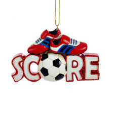 soccer ornaments the mouse