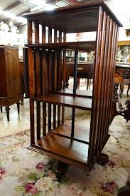 Revolving Bookcase Table Tasmania Blackwood Revolving Bookcase French Antiques Melbourne