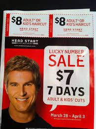 head start hair salon 7 days 7 hair cuts promo is extended ends