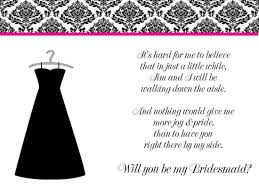 asking of honor poem poems for asking bridesmaids to be in your wedding wedding ideas
