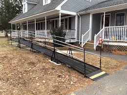 Wheelchair Ramp Handrails Wheelchair Ramps Boston Amramp