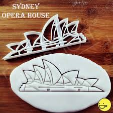 sydney opera house cookie cutter tourist attractions biscuit