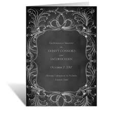 wedding program chalkboard wedding programs cheap wedding programs s bridal bargains