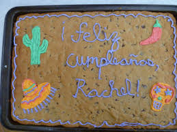 Makes Cakes And Bakes Cookie Cake