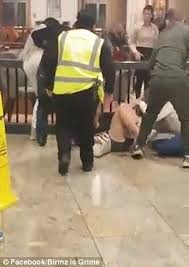 birmingham sees girls brawl in bullring shopping centre daily