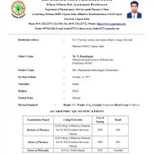 sle resume format word fascinating mca fresherme format for freshers doc