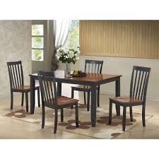 boraam bloomington dining table set boraam 21034 bloomington 5 piece dining set in black cherry