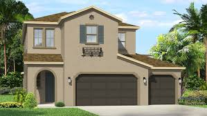 Garage Homes The Promenade At Lake Park 50s New Homes In Lutz Fl 33548