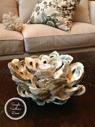 oyster shell candle holder d i y oyster shells oysters and shell