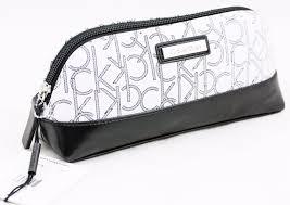 calvin klein makeup bag wristlet women u0027s purse handbag authentic