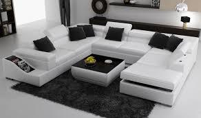 canap forme u blanc u forme salon canapé dans ensembles salle de séjour de meubles