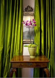 Beige And Green Curtains Decorating Collection In Lime Green Velvet Curtains Decorating With Curtains