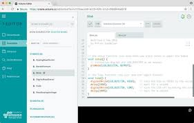 getting started with the arduino web editor arduino project hub